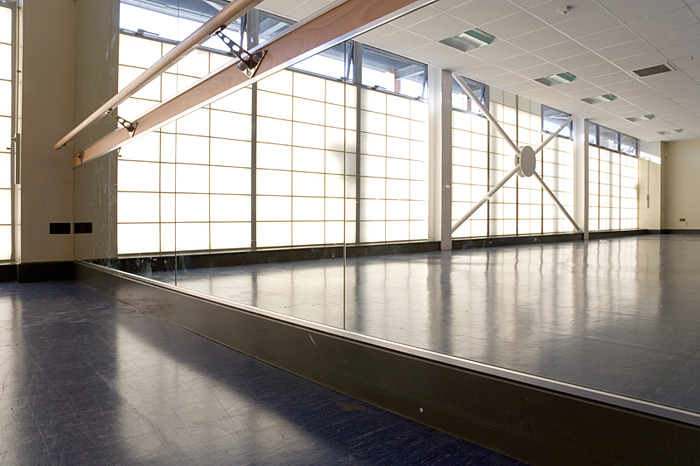 Interior, dance studio